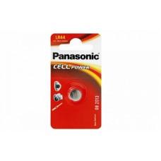 Μικροαλκαλική Μπαταρία Panasonic Cell Power LR44 1.5V